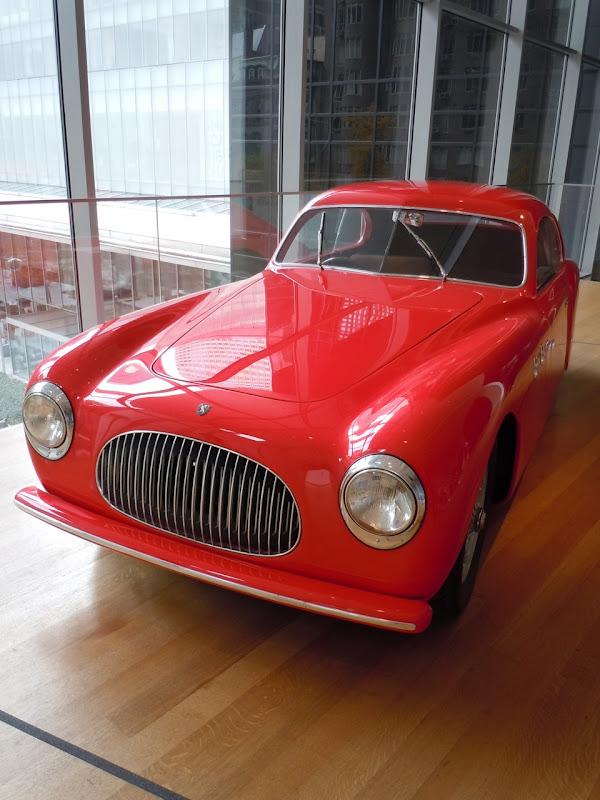 Cisitalia 202 GT car MoMA