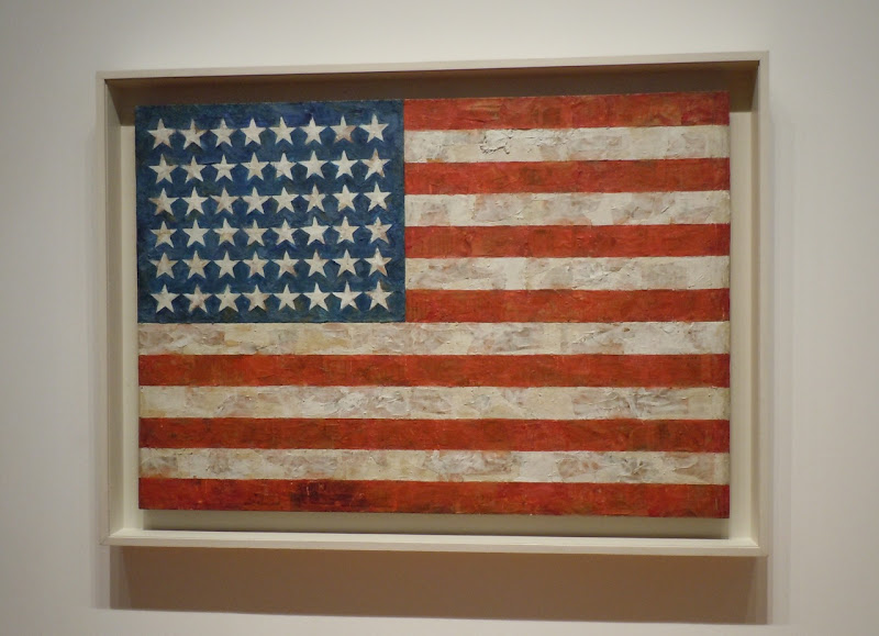 Flag painting Jasper Johns
