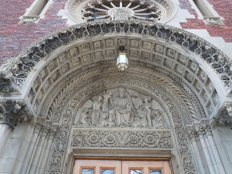 Guardian Angel Church doorway arch