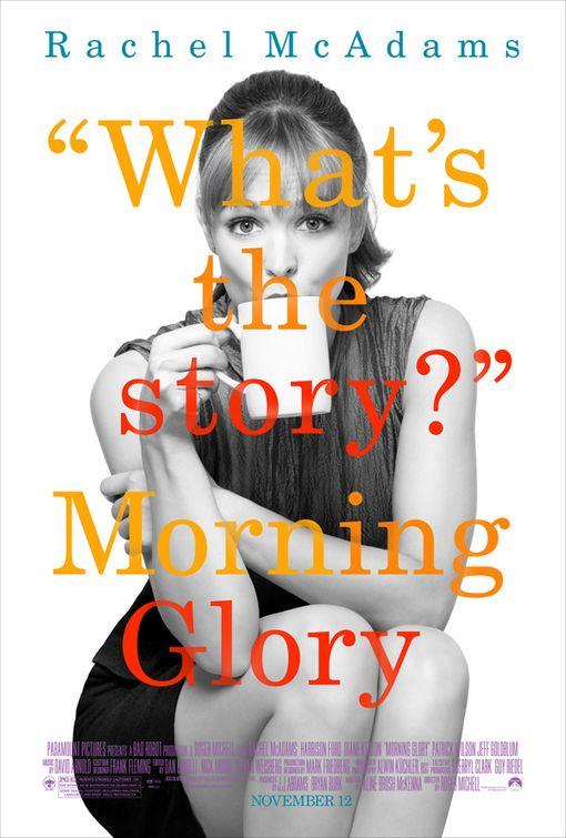 Rachel McAdams Morning Glory poster