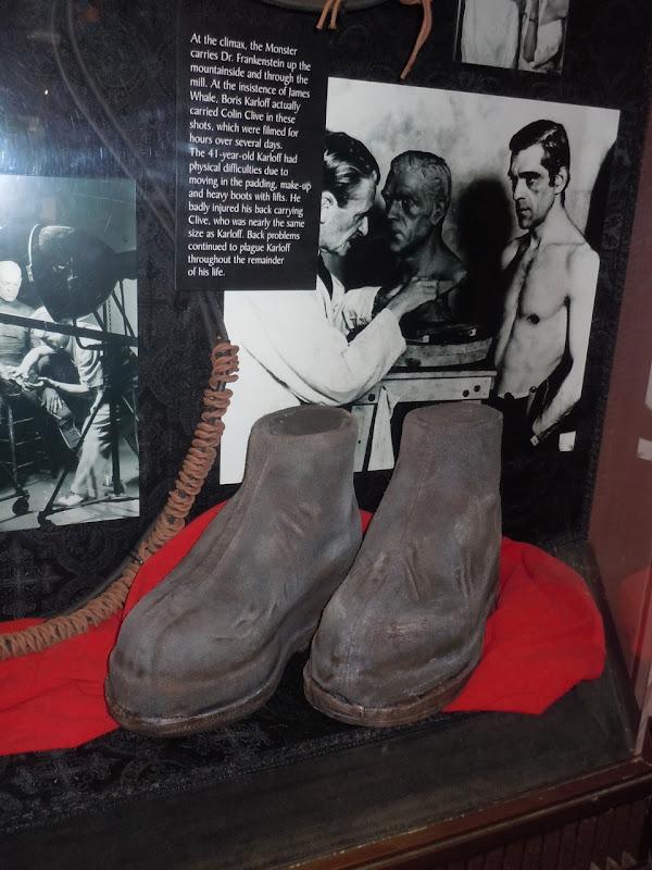 Frankenstein's monster boots props