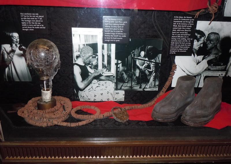 Frankenstein's monster props
