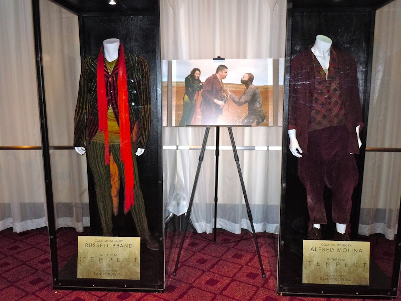 The Tempest movie costume display
