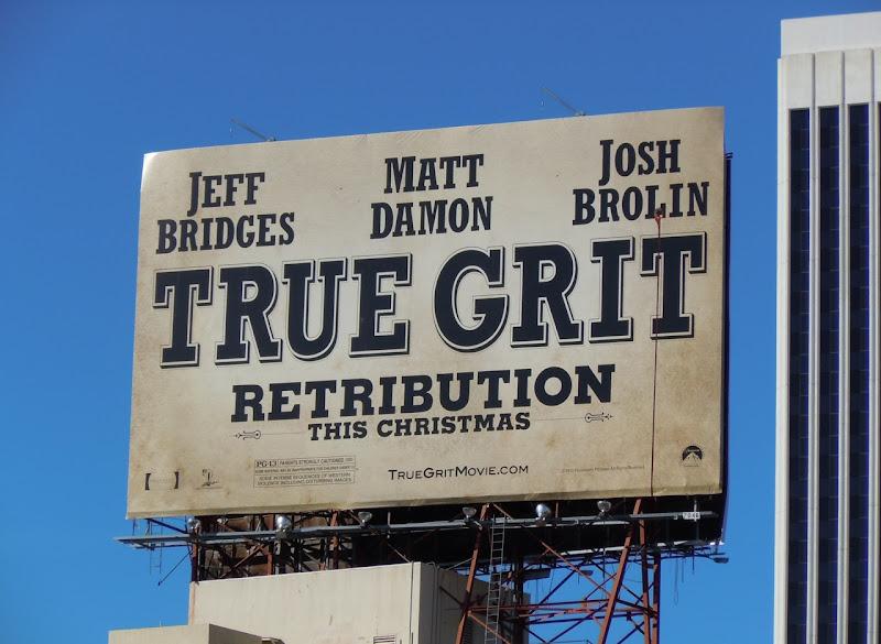 True Grit Retribution billboard