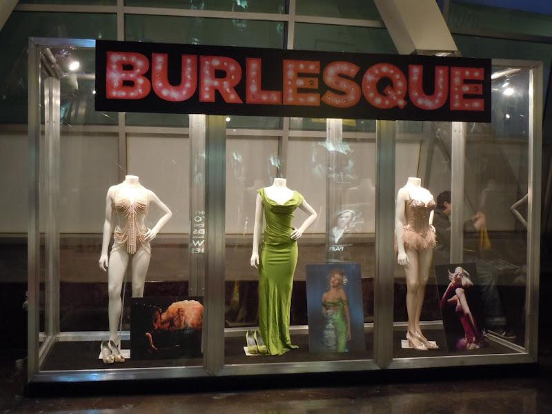 Burlesque movie costumes