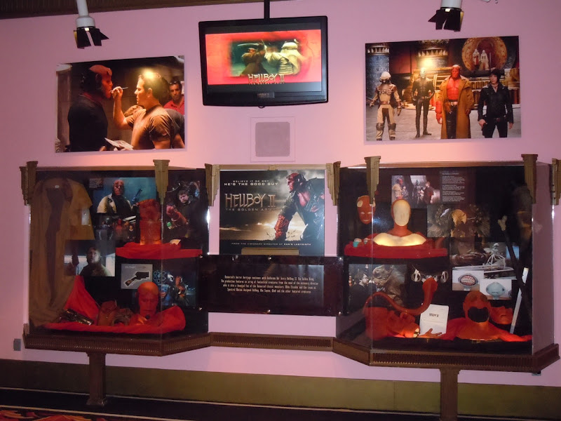 Hellboy 2 costume and prop display