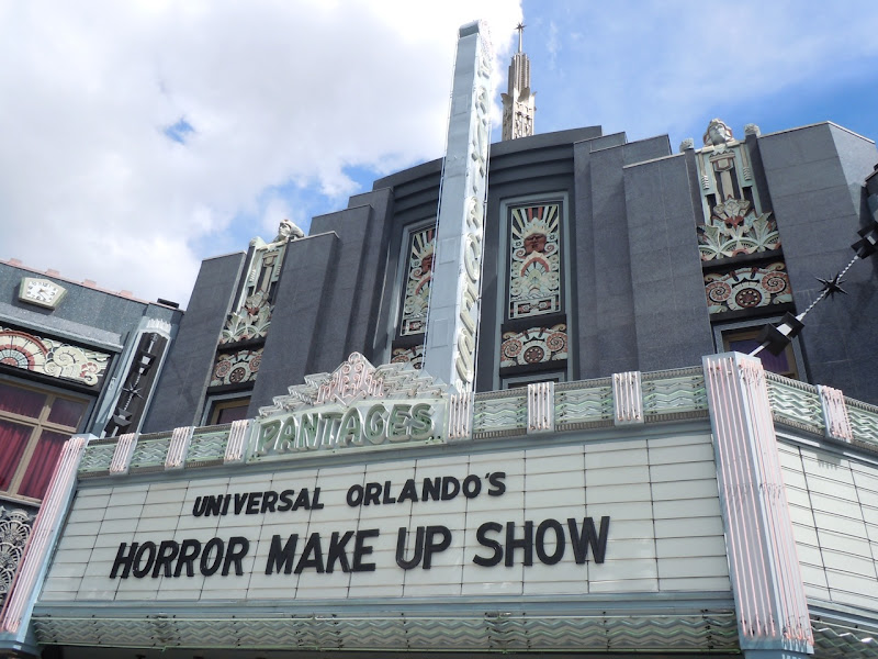 Universal Horror make-up show