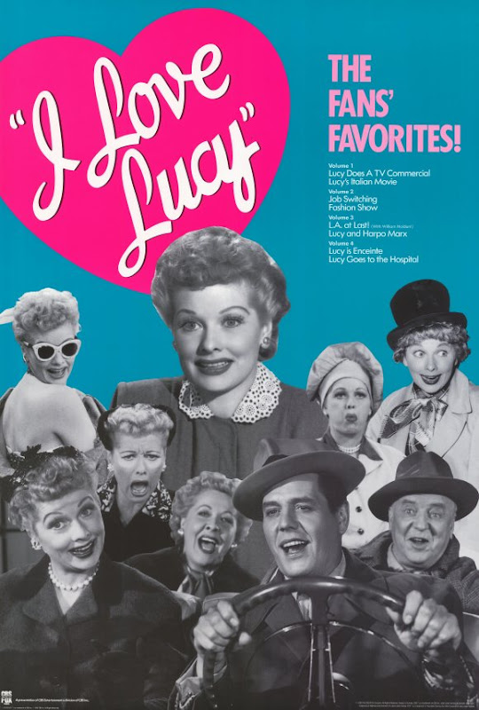 I Love Lucy poster