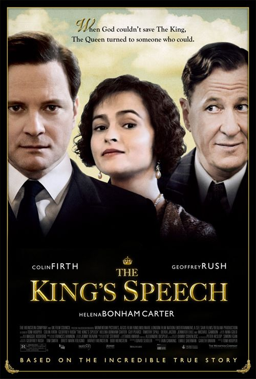 The King's Speech movie poster