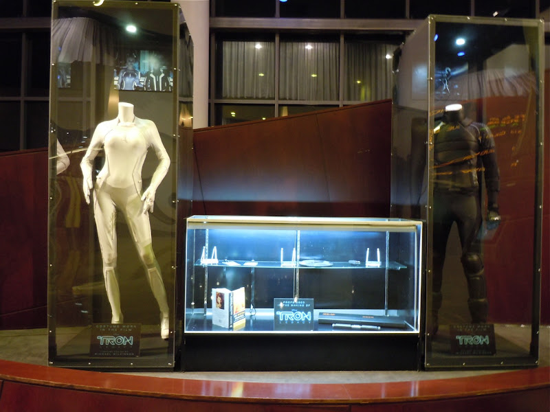 Tron Legacy movie costume display