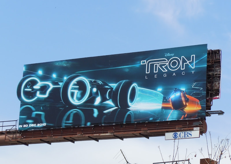 Tron Legacy Lightrunner billboard
