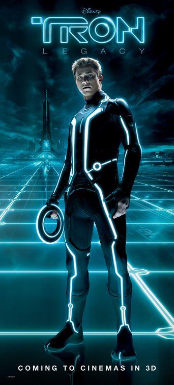 Garrett Hedlund Tron Legacy poster