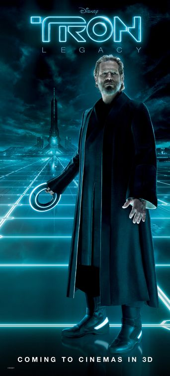 Jeff Bridges Tron Legacy poster