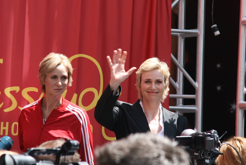Sue Sylvester Jane Lynch waxwork