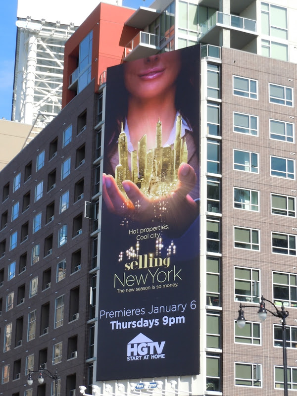 Selling New York HGTV billboard