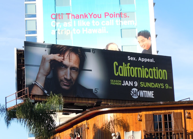 Californication season 4 Showtime billboard