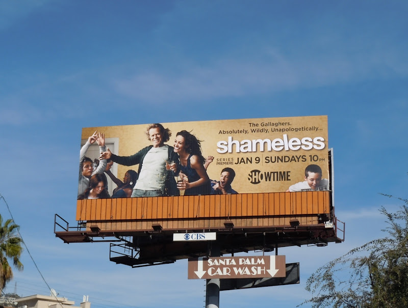 Shameless TV remake billboard