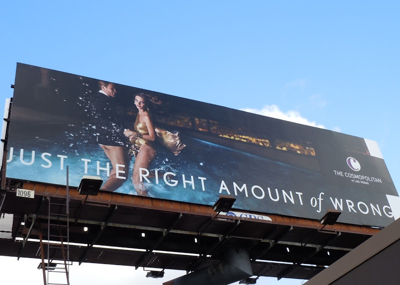 Right amount of wrong billboard