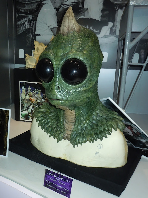 Land of the Lost movie Sleestak mask