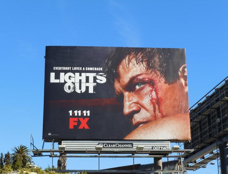 LIghts Out TV Billboard