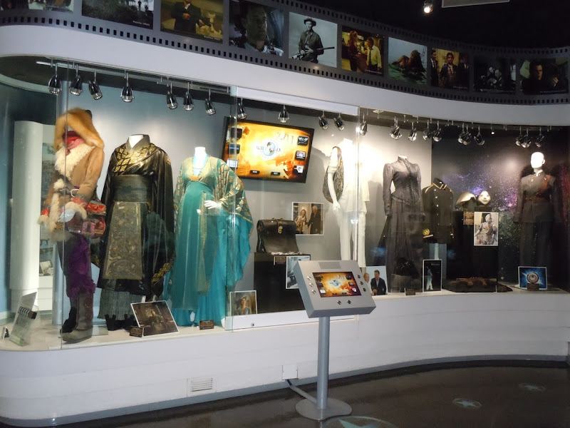 Universal Studios costume exhibit