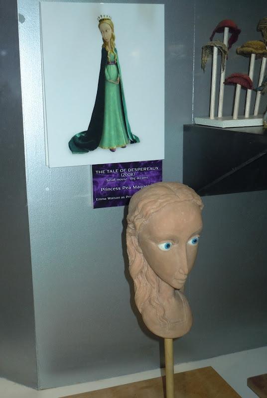 Despereaux Princess Pea maquette