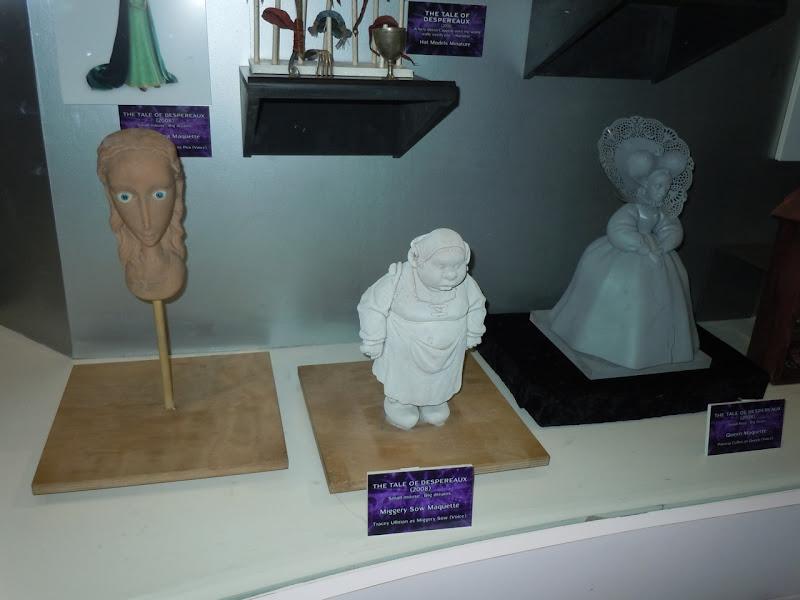 Tale of Despereaux animation maquettes