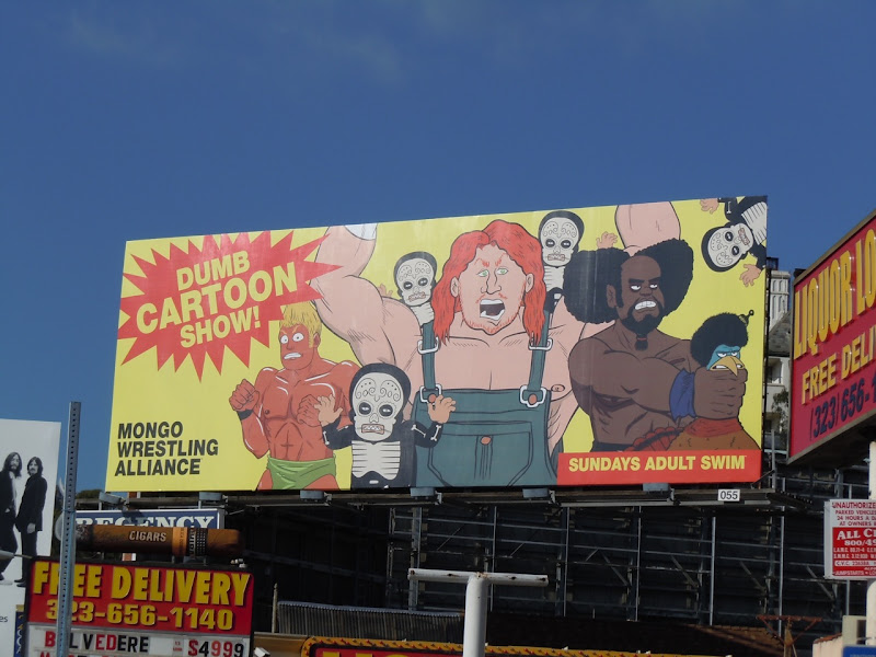 Dumb Cartoon Show billboard