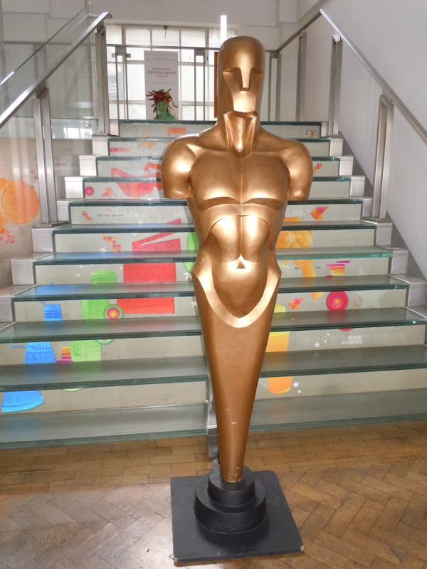 London Film Museum Oscar statue