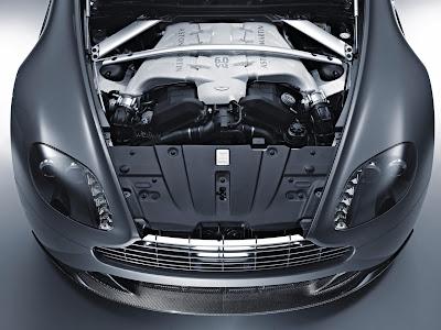 Aston Martin Vantage V12 Red. Aston Martin V12 Vantage