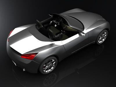 2010 Alfa Romeo Spider Design Study