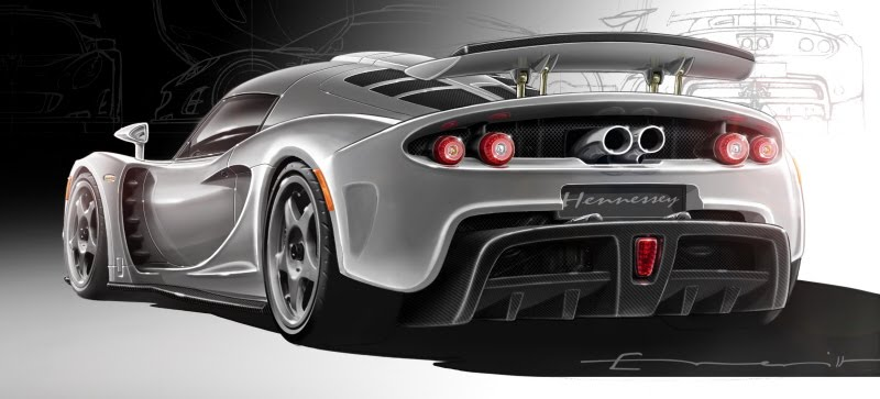 concept cars wallpapers. Hennessey VENOM GT Concept Car