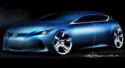 2011 Lexus Premium Compact Concept