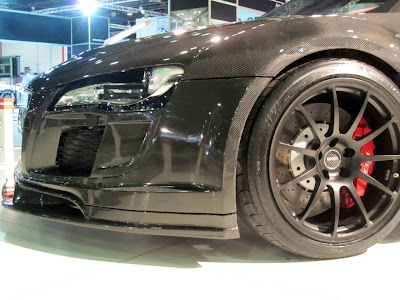 2010 Audi R8 PPI Razor GTR Visible Carbon Fiber Widebody