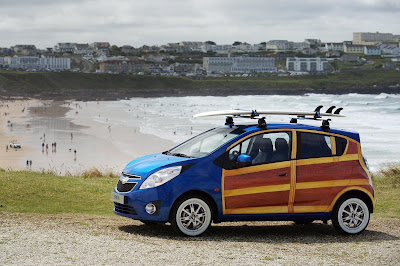 2010 Chevrolet Spark Woody Wagon Art Car