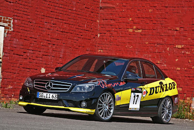 Wimmer RS Mercedes C63 AMG Dunlop