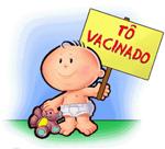 Esteja com as vacinas do seu filho em dia.