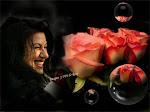 con rosas