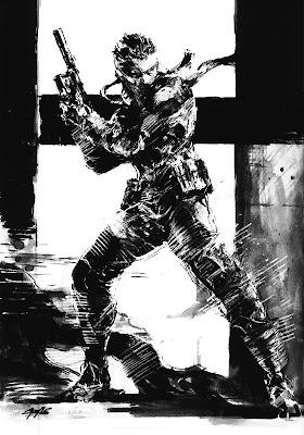 Ilustraciones de Yoji Shinkawa Mgs-sketch01