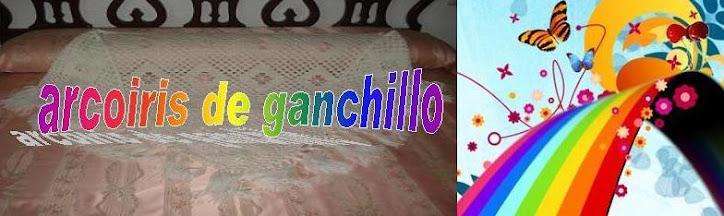 Arcoiris de Ganchillo