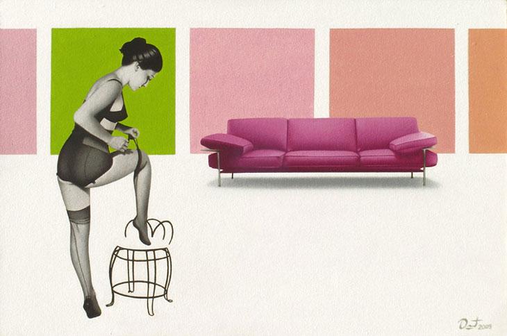 Federico Duret-artísta plástico.óleo sobre cartón