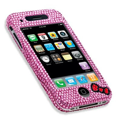 "hello kitty crystal ""imaginary"" iphone case"