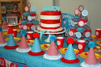 dr seuss party inspiration toddler childrens birthday parties baby showers http://www.frostedevents.com DC MD VA 