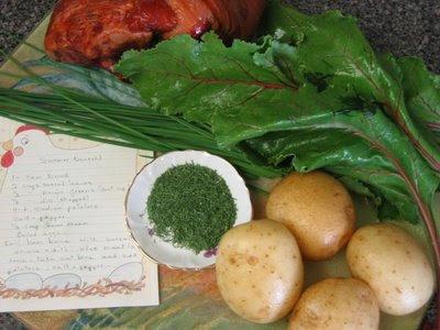 Canning recipe borscht