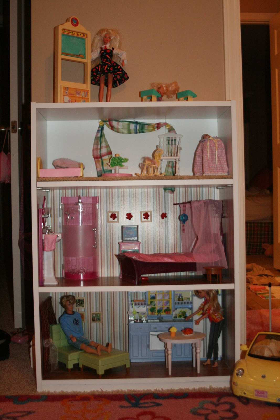 room created with furniture she already had the next room is the title=