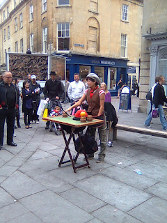 Street Magician in Bath