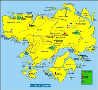 Peta Pulau Langkawi
