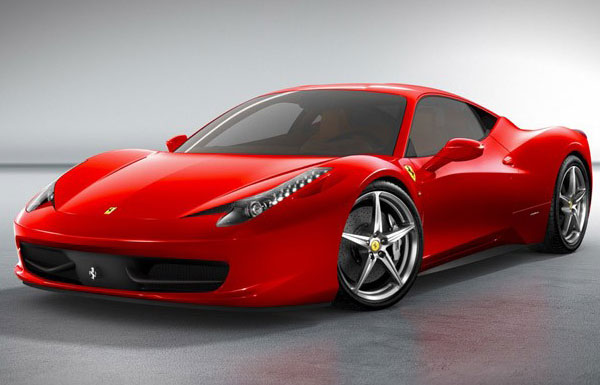 Latest Ferrari Car Models