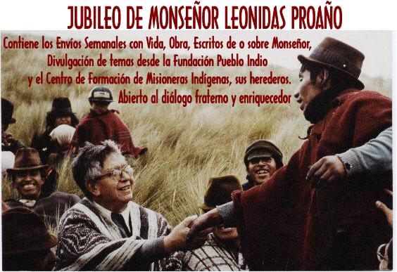 JUBILEO DE MONSEÑOR LEONIDAS PROAÑO