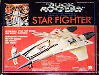 Starfighter, Buck Rogers toys.
